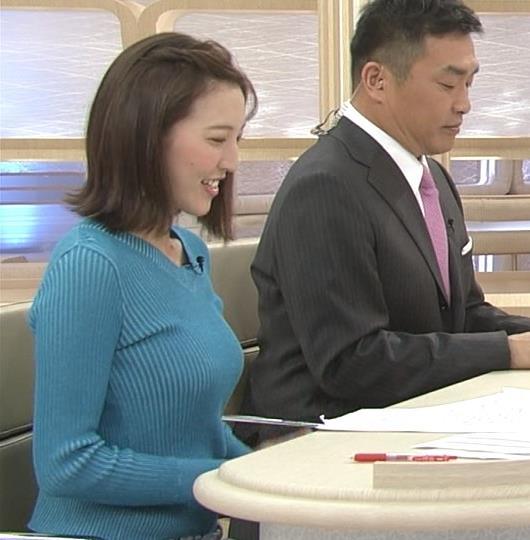 小澤陽子アナ デカい横乳!!キャプ・エロ画像2