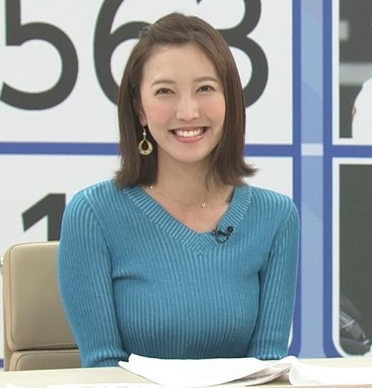 小澤陽子アナ デカい横乳!!キャプ・エロ画像3