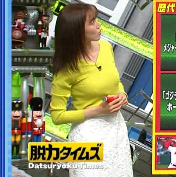 小澤陽子アナ 巨乳ニット&ミニスカ太もも。フェロモン系女子アナキャプ・エロ画像17