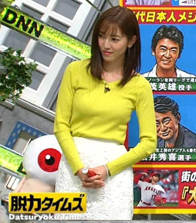 小澤陽子アナ 巨乳ニット&ミニスカ太もも。フェロモン系女子アナキャプ・エロ画像18