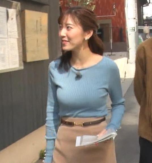 小澤陽子アナ フジテレビ女子アナで一番の巨乳!?キャプ・エロ画像5