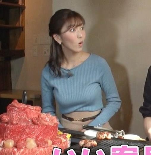 小澤陽子アナ フジテレビ女子アナで一番の巨乳!?キャプ・エロ画像8