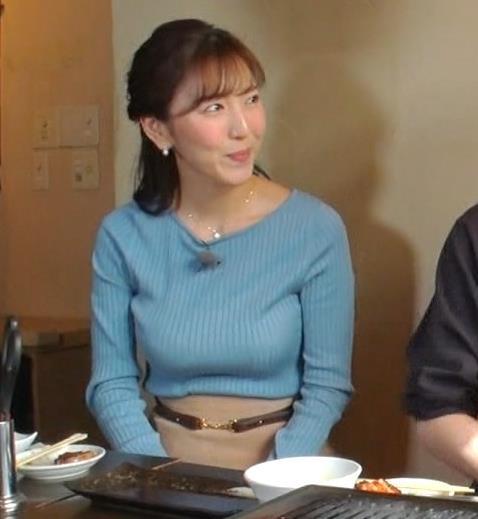 小澤陽子アナ フジテレビ女子アナで一番の巨乳!?キャプ・エロ画像9