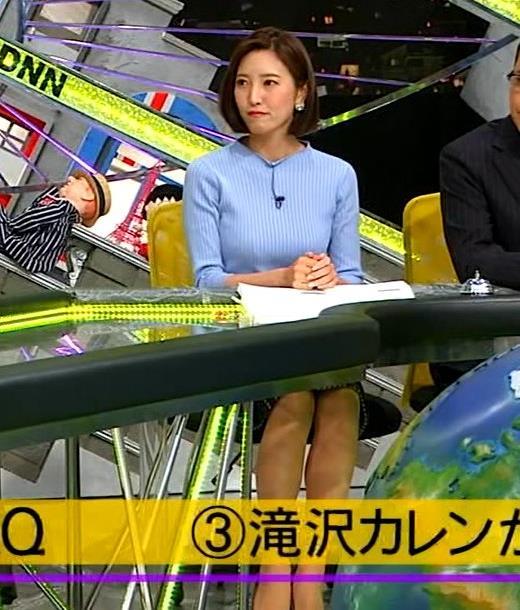 小澤陽子アナ ニットおっぱい!キャプ・エロ画像2