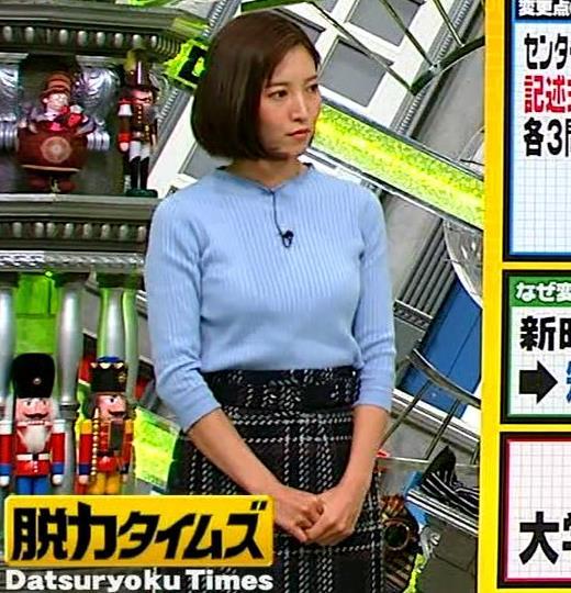小澤陽子アナ ニットおっぱい!キャプ・エロ画像6