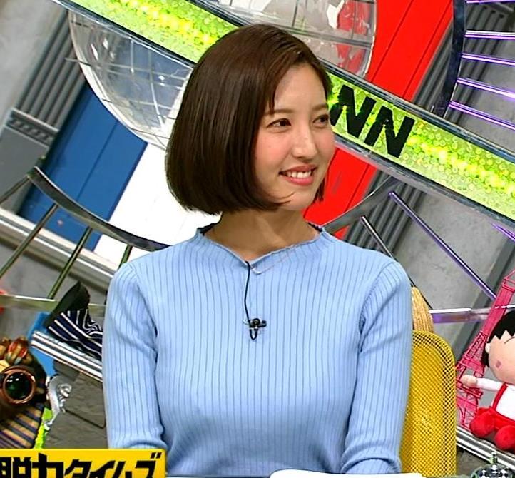 小澤陽子アナ ニットおっぱい!キャプ・エロ画像10