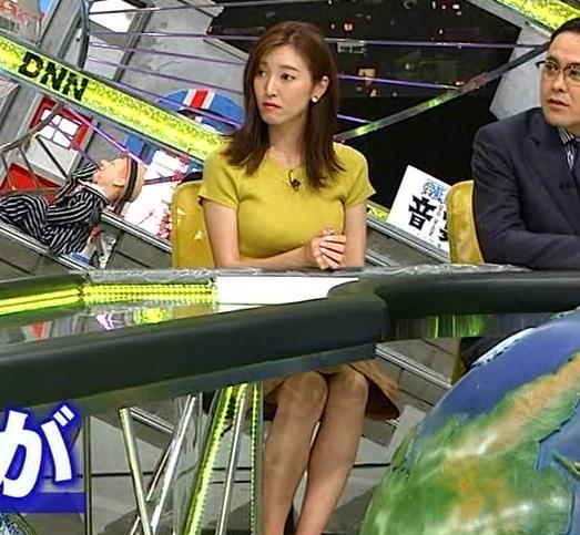 小澤陽子アナ 巨乳が目立つニットキャプ・エロ画像2