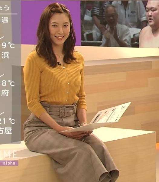 小澤陽子アナ おでこを出した前髪キャプ・エロ画像3