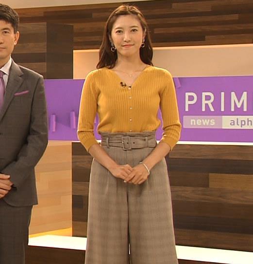 小澤陽子アナ おでこを出した前髪キャプ・エロ画像4
