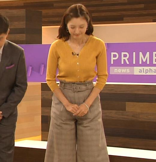 小澤陽子アナ おでこを出した前髪キャプ・エロ画像5