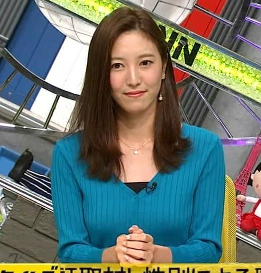 小澤陽子アナ エロいおっぱいしてるキャプ・エロ画像2