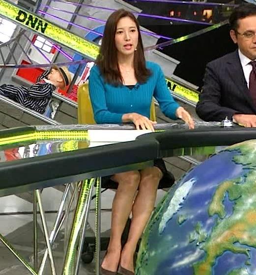 小澤陽子アナ エロいおっぱいしてるキャプ・エロ画像3