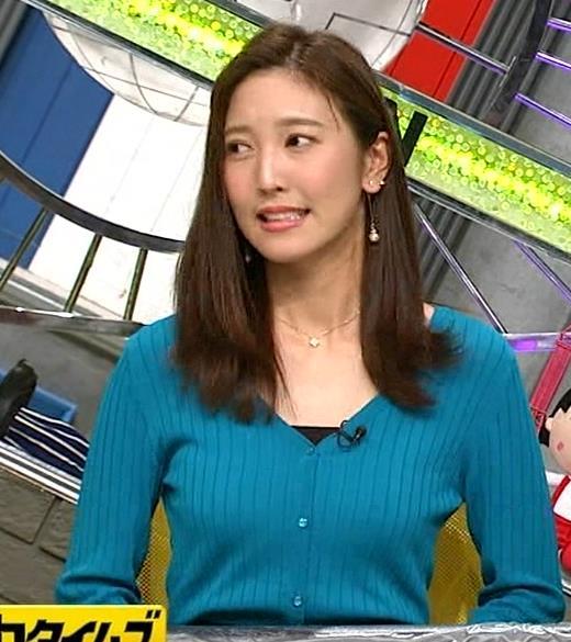 小澤陽子アナ エロいおっぱいしてるキャプ・エロ画像7