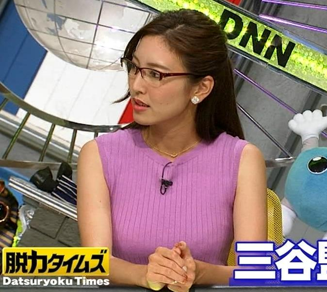 小澤陽子アナ このニット乳はエロ過ぎキャプ・エロ画像