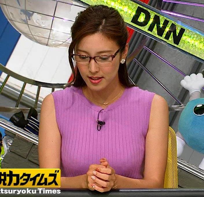 小澤陽子アナ このニット乳はエロ過ぎキャプ・エロ画像2
