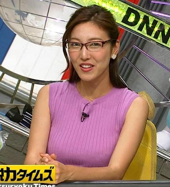小澤陽子アナ このニット乳はエロ過ぎキャプ・エロ画像12