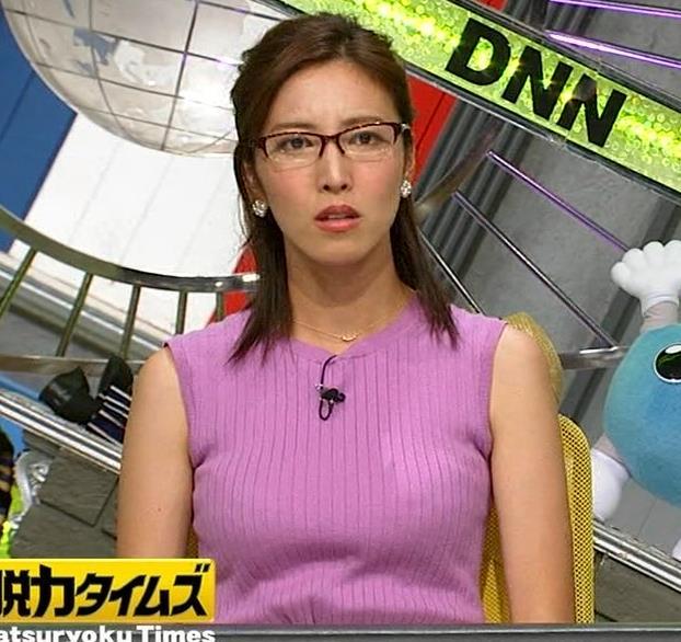 小澤陽子アナ このニット乳はエロ過ぎキャプ・エロ画像10