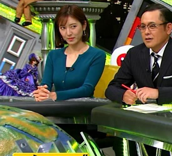小澤陽子アナ 胸元開いててエロいキャプ・エロ画像5