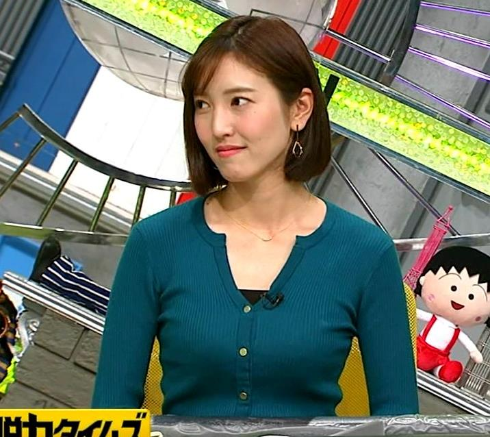 小澤陽子アナ 胸元開いててエロいキャプ・エロ画像7