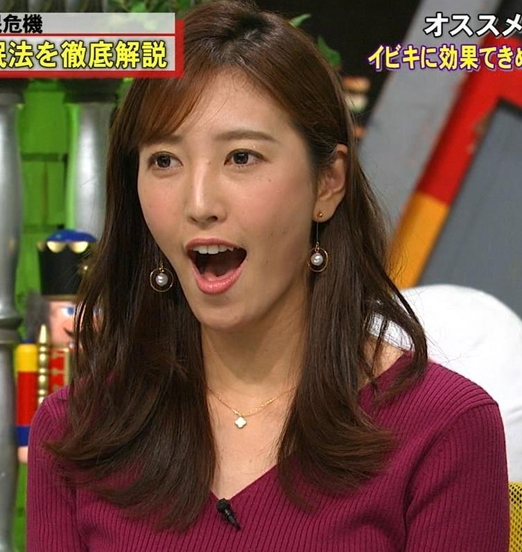 小澤陽子アナ エロい舌出しキャプ・エロ画像