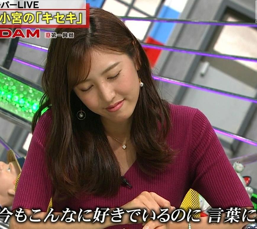 小澤陽子アナ エロい舌出しキャプ・エロ画像14