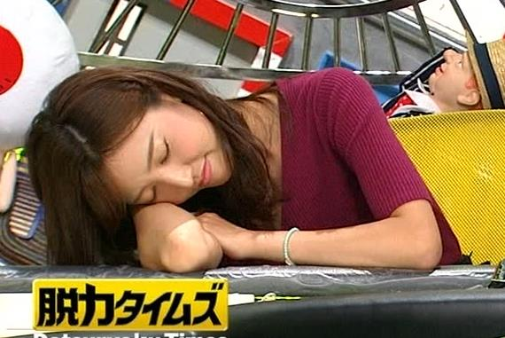 小澤陽子アナ エロい舌出しキャプ・エロ画像15