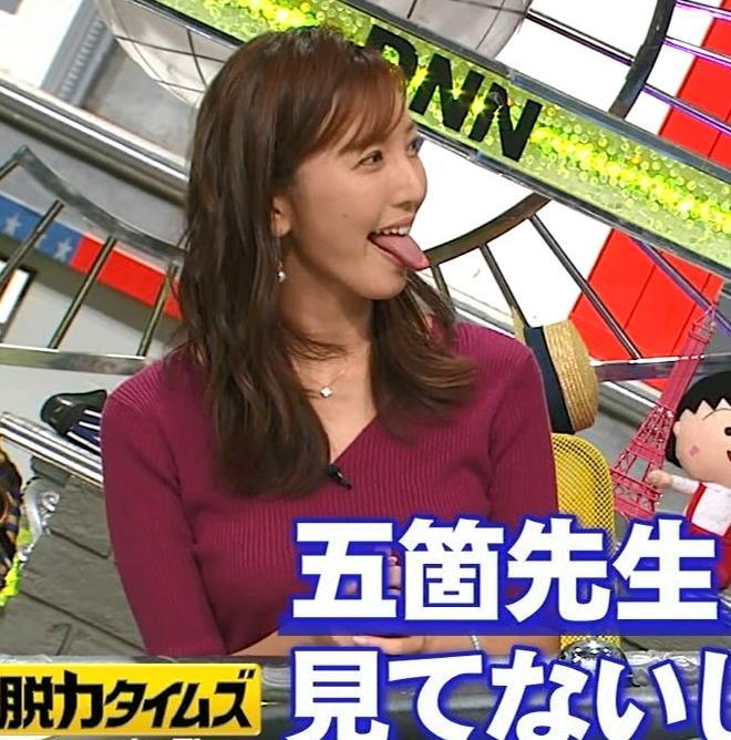 小澤陽子アナ エロい舌出しキャプ・エロ画像10