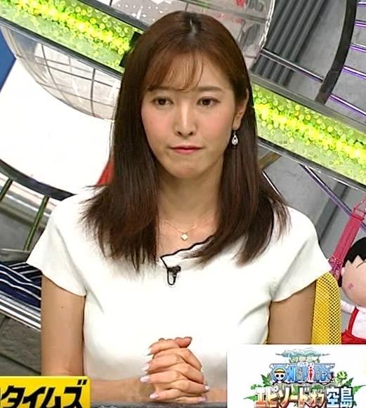 小澤陽子アナ デカい横乳画像たくさんキャプ・エロ画像