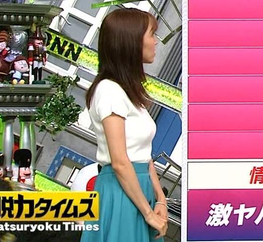 小澤陽子アナ デカい横乳画像たくさんキャプ・エロ画像2