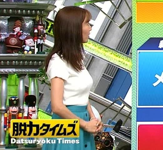 小澤陽子アナ デカい横乳画像たくさんキャプ・エロ画像6
