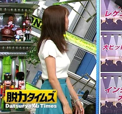 小澤陽子アナ デカい横乳画像たくさんキャプ・エロ画像7