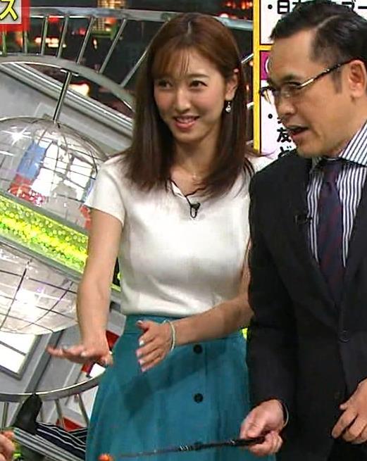 小澤陽子アナ デカい横乳画像たくさんキャプ・エロ画像8