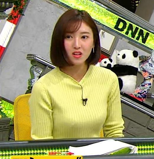 小澤陽子アナ 胸もいいけど脚もきれいキャプ・エロ画像3