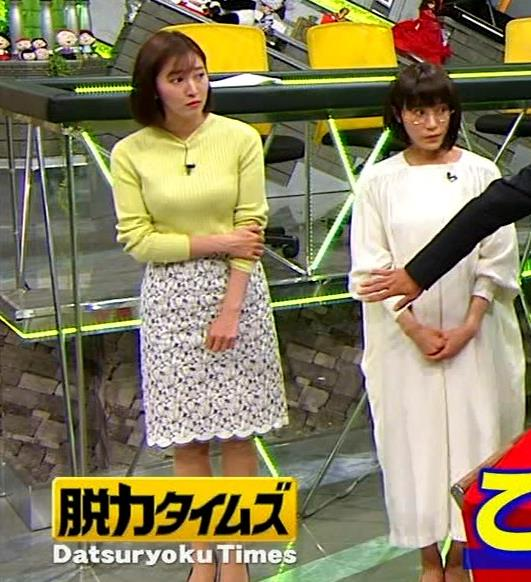 小澤陽子アナ 胸もいいけど脚もきれいキャプ・エロ画像4
