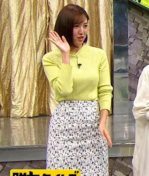 小澤陽子アナ 胸もいいけど脚もきれいキャプ・エロ画像5