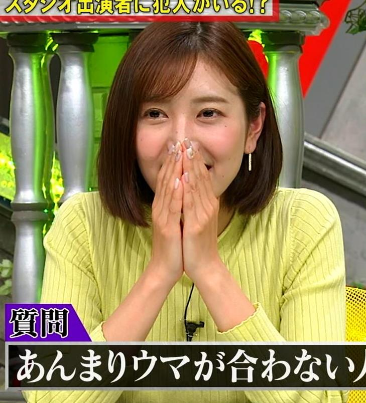 小澤陽子アナ 胸もいいけど脚もきれいキャプ・エロ画像6