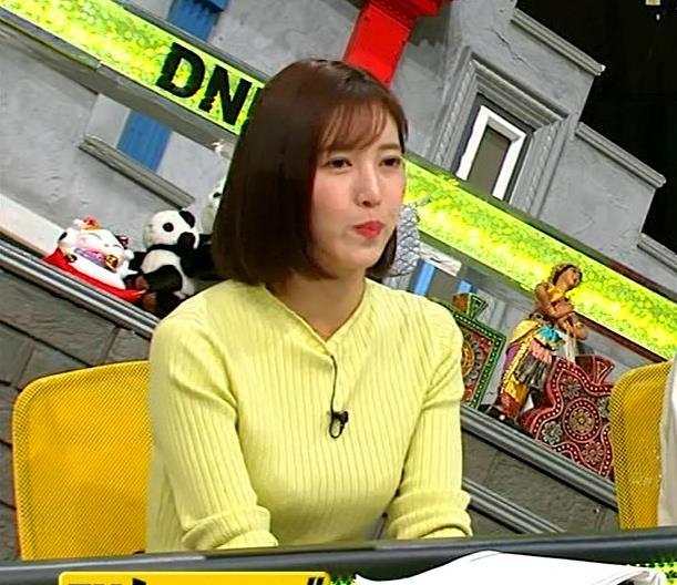 小澤陽子アナ 胸もいいけど脚もきれいキャプ・エロ画像7