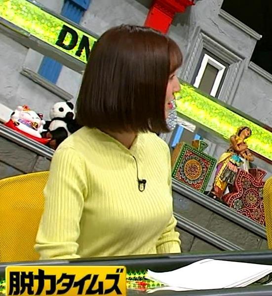 小澤陽子アナ 胸もいいけど脚もきれいキャプ・エロ画像9