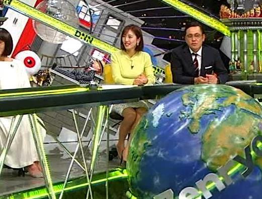 小澤陽子アナ 胸もいいけど脚もきれいキャプ・エロ画像10