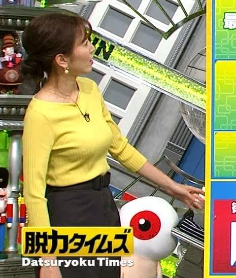 小澤陽子アナ 美人でいつもエロい女子アナキャプ・エロ画像2