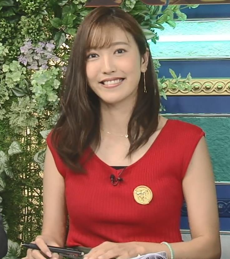 小澤陽子アナ スカート短すぎて露出度高すぎキャプ・エロ画像