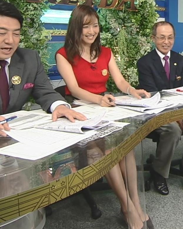 小澤陽子アナ スカート短すぎて露出度高すぎキャプ・エロ画像6