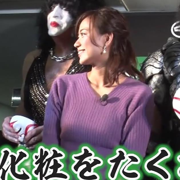 斎藤真美アナ ニットおっぱいキャプ・エロ画像6