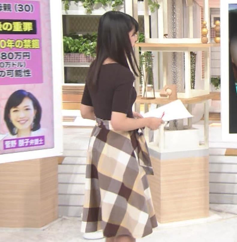 斎藤ちはるアナ 形のよさそうな横乳キャプ・エロ画像2