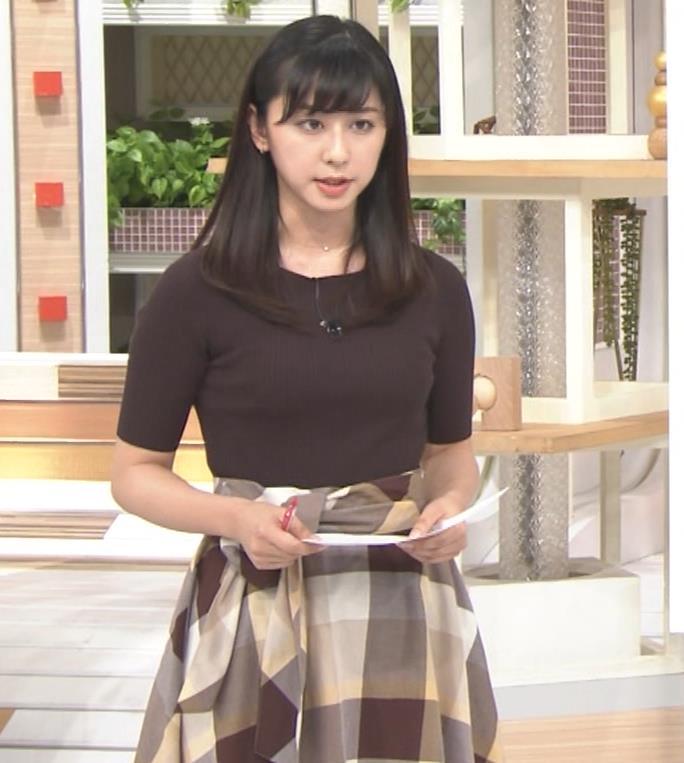 斎藤ちはるアナ 形のよさそうな横乳キャプ・エロ画像5