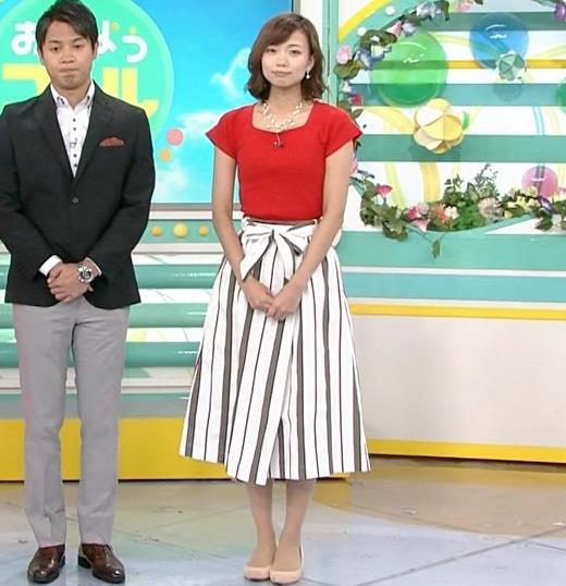 斎藤真美アナ タイトな服でエロいおっぱいキャプ・エロ画像