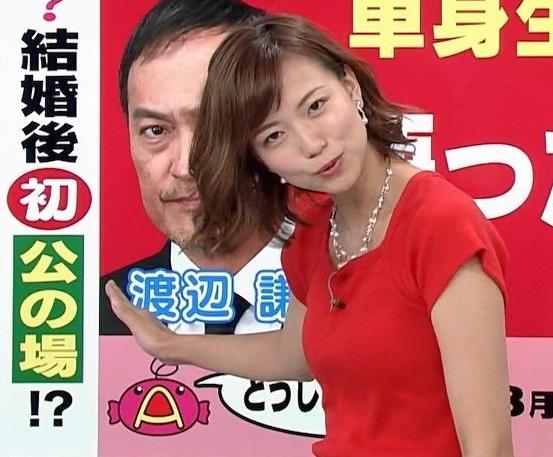 斎藤真美アナ タイトな服でエロいおっぱいキャプ・エロ画像11