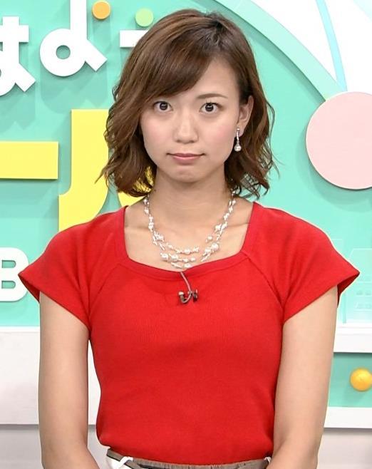 斎藤真美アナ タイトな服でエロいおっぱいキャプ・エロ画像15