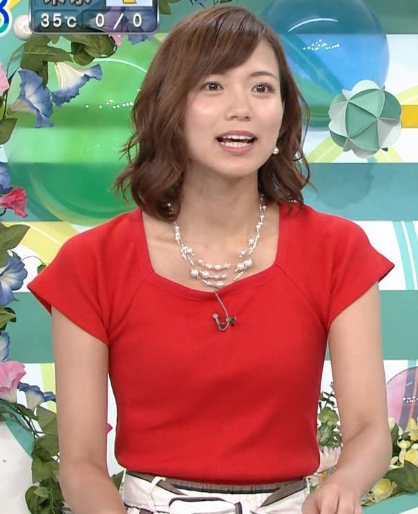 斎藤真美アナ タイトな服でエロいおっぱいキャプ・エロ画像16
