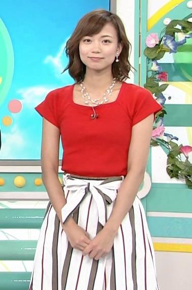 斎藤真美アナ タイトな服でエロいおっぱいキャプ・エロ画像3